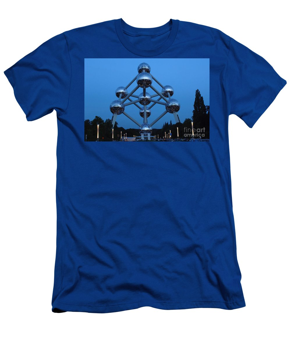 Art Men's T-Shirt (Athletic Fit) featuring the photograph Art In Architecture 1 by Bob Christopher