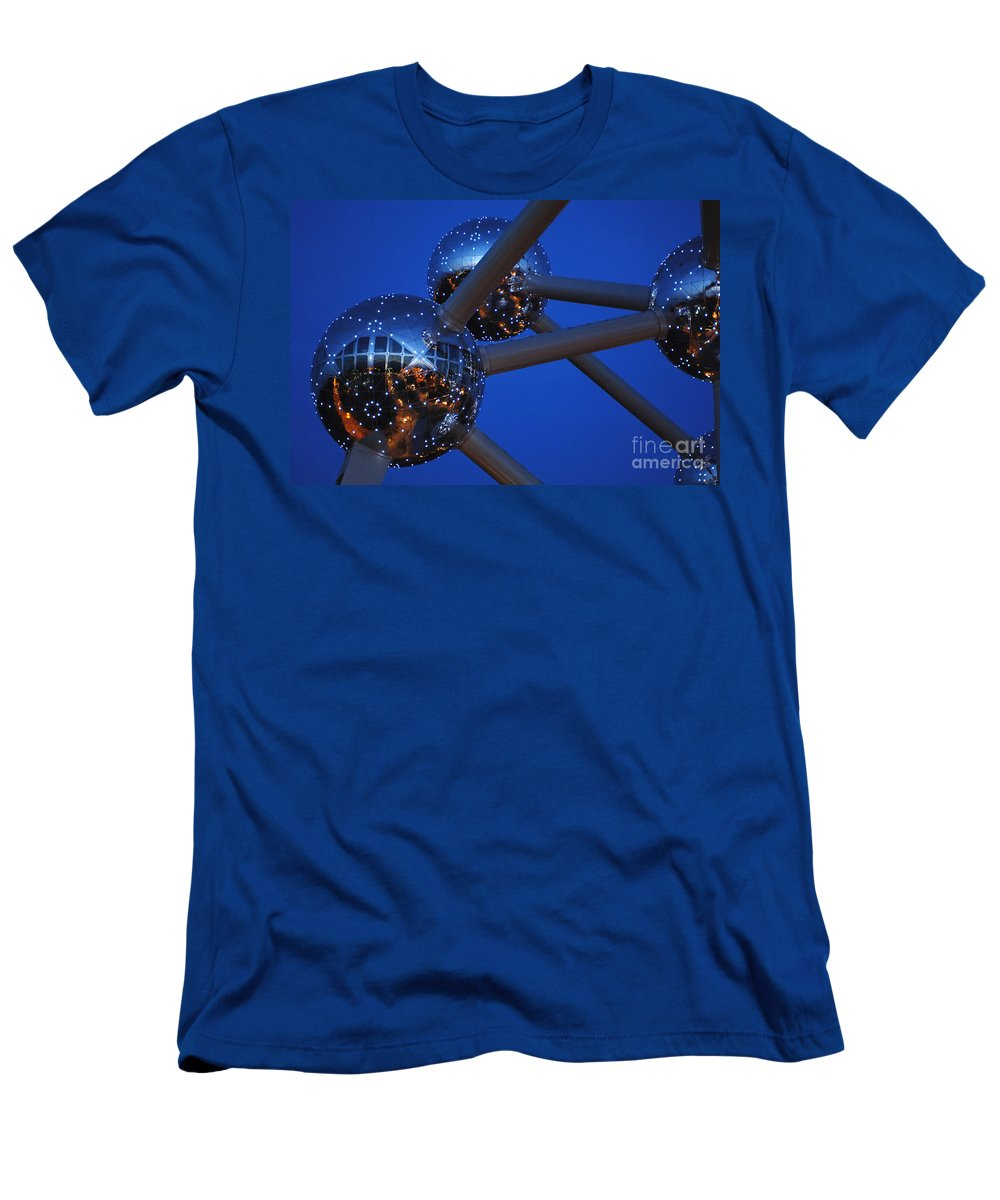 Art Men's T-Shirt (Athletic Fit) featuring the photograph Art In Architecture 3 by Bob Christopher