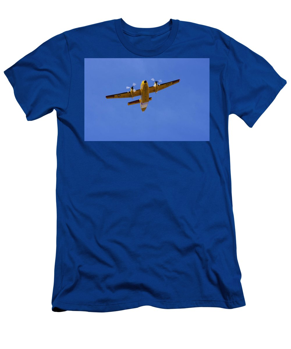 De Havilland Men's T-Shirt (Athletic Fit) featuring the photograph Belly Of The Beast by John Greaves