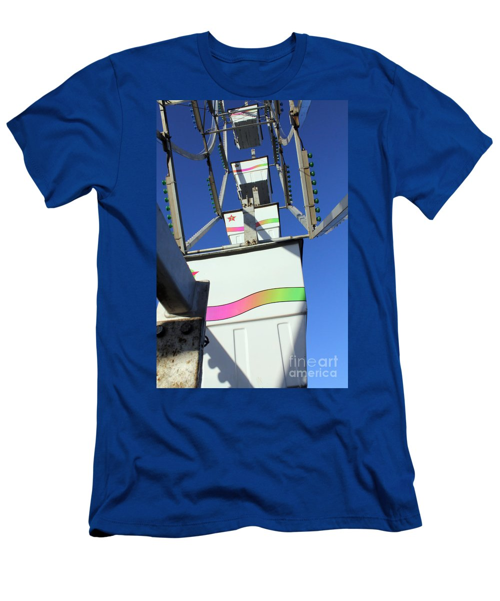 Carnival Men's T-Shirt (Athletic Fit) featuring the photograph Bucket List by Alycia Christine