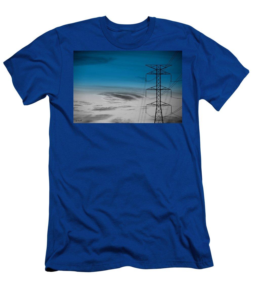 Eye Of The Hurricane Men's T-Shirt (Athletic Fit) featuring the photograph Eye Of The Hurricane by Ed Smith
