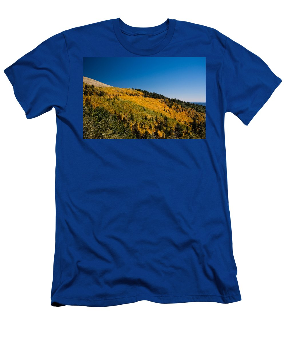 Ralf Men's T-Shirt (Athletic Fit) featuring the photograph fall in Ruidoso by Ralf Kaiser