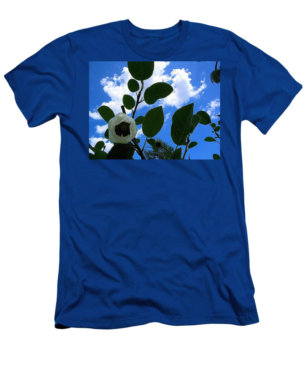 Flower Men's T-Shirt (Athletic Fit) featuring the photograph Hope by April Patterson