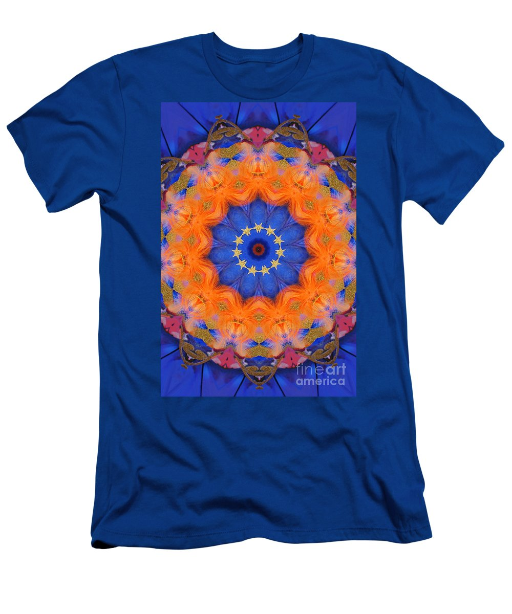 Kaleidoscope Men's T-Shirt (Athletic Fit) featuring the photograph Mermaid 1 by Mark Gilman