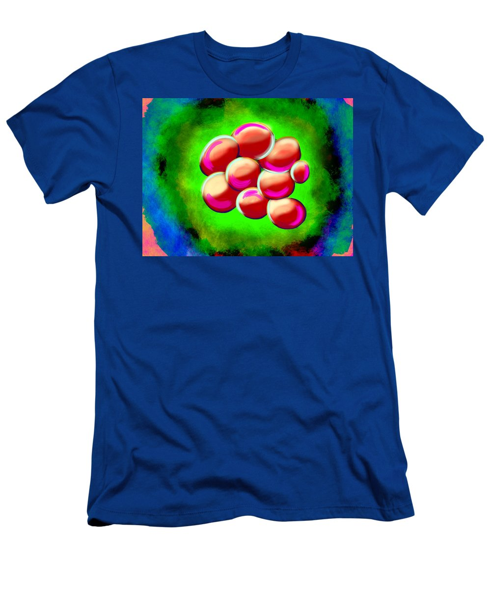 Men's T-Shirt (Athletic Fit) featuring the digital art Ness by Mathieu Lalonde