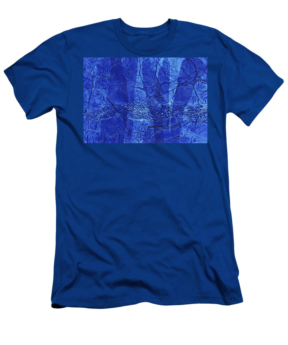 Abstract Men's T-Shirt (Athletic Fit) featuring the mixed media Rhapsody Of Colors 61 by Elisabeth Witte