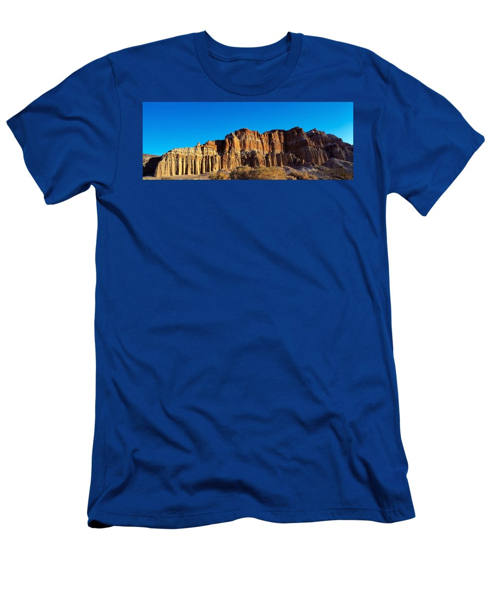 Beauty In Nature Men's T-Shirt (Athletic Fit) featuring the photograph U.s.a. California Mojave by The Irish Image Collection
