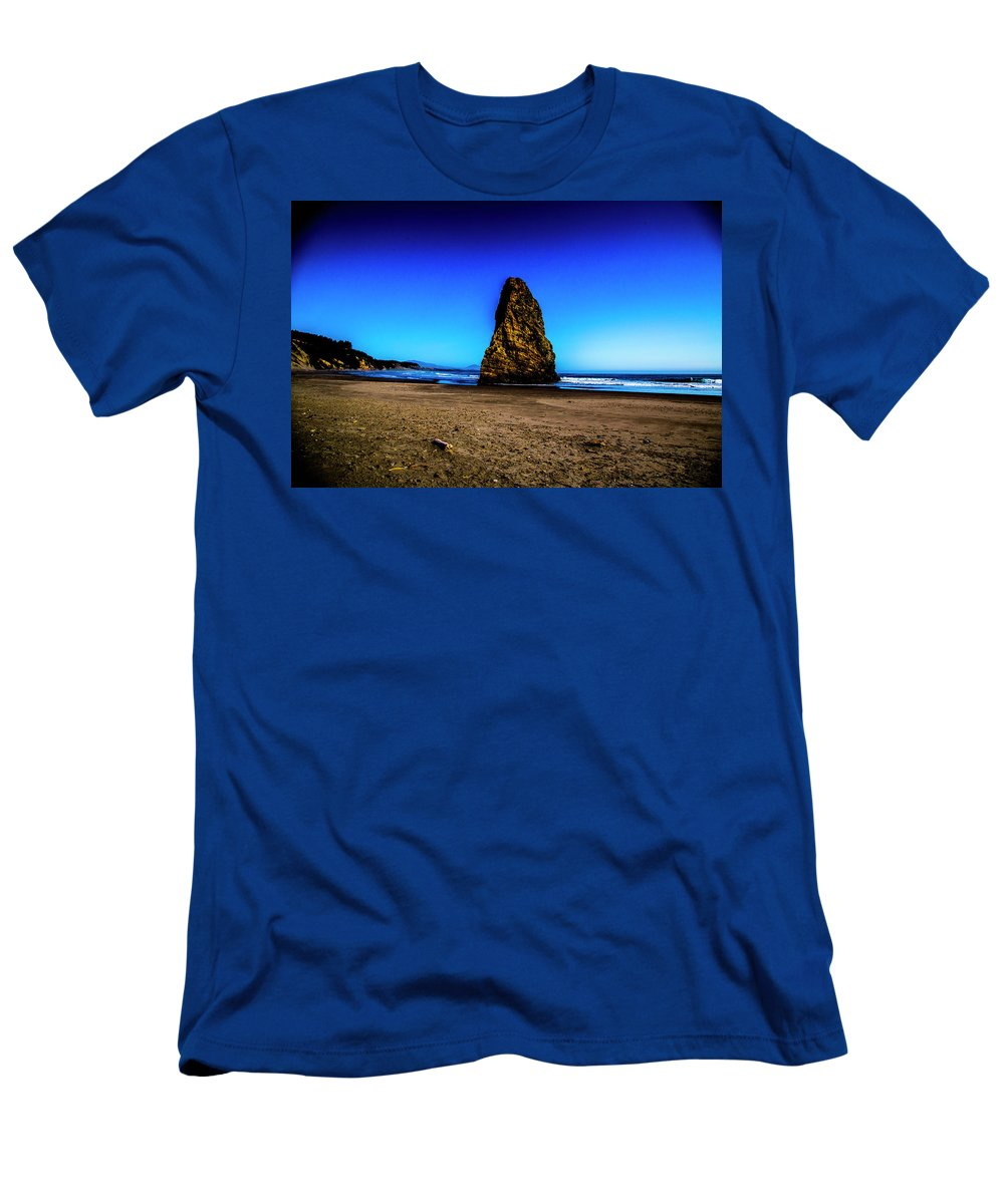 Men's T-Shirt (Athletic Fit) featuring the photograph Cape Blanco Lighthouse by Angus Hooper Iii