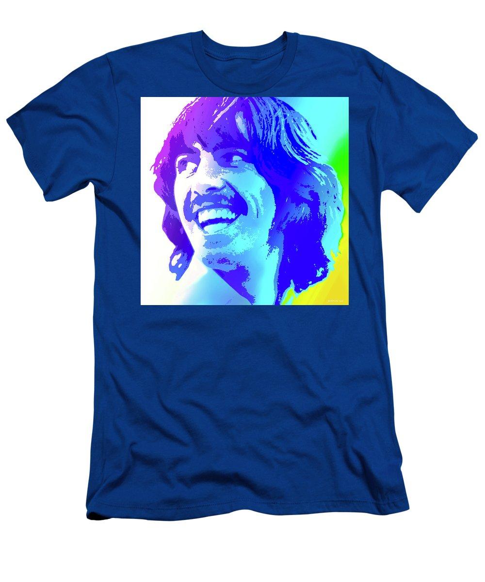George Harrison T-Shirt featuring the digital art George Harrison by Greg Joens