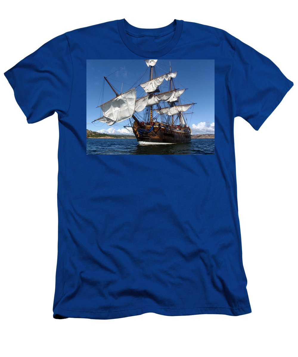Gothenburg Men's T-Shirt (Athletic Fit) featuring the photograph Gothenburg by Are Lund