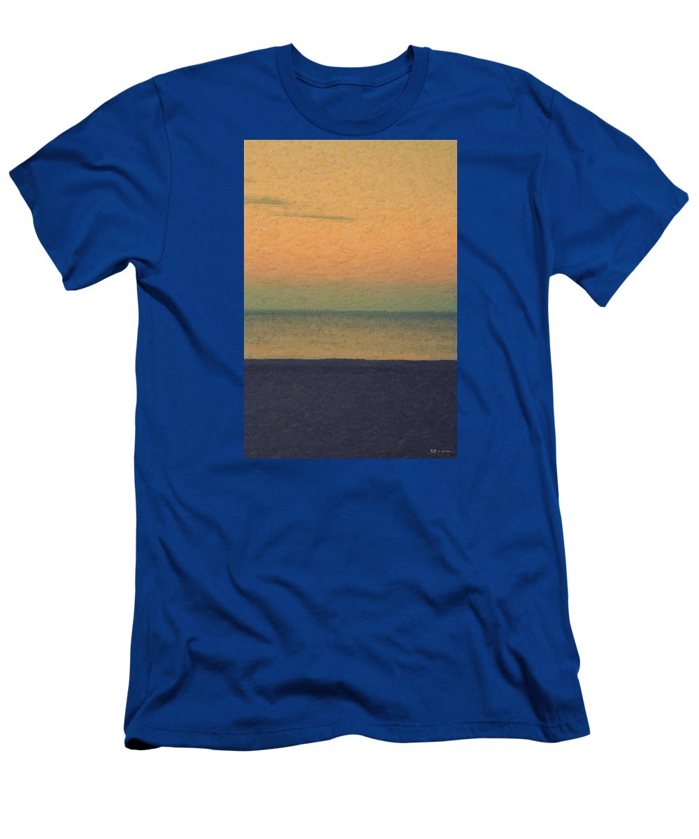 �not Quite Rothko� Collection By Serge Averbukh T-Shirt featuring the photograph Not quite Rothko - Breezy Twilight by Serge Averbukh