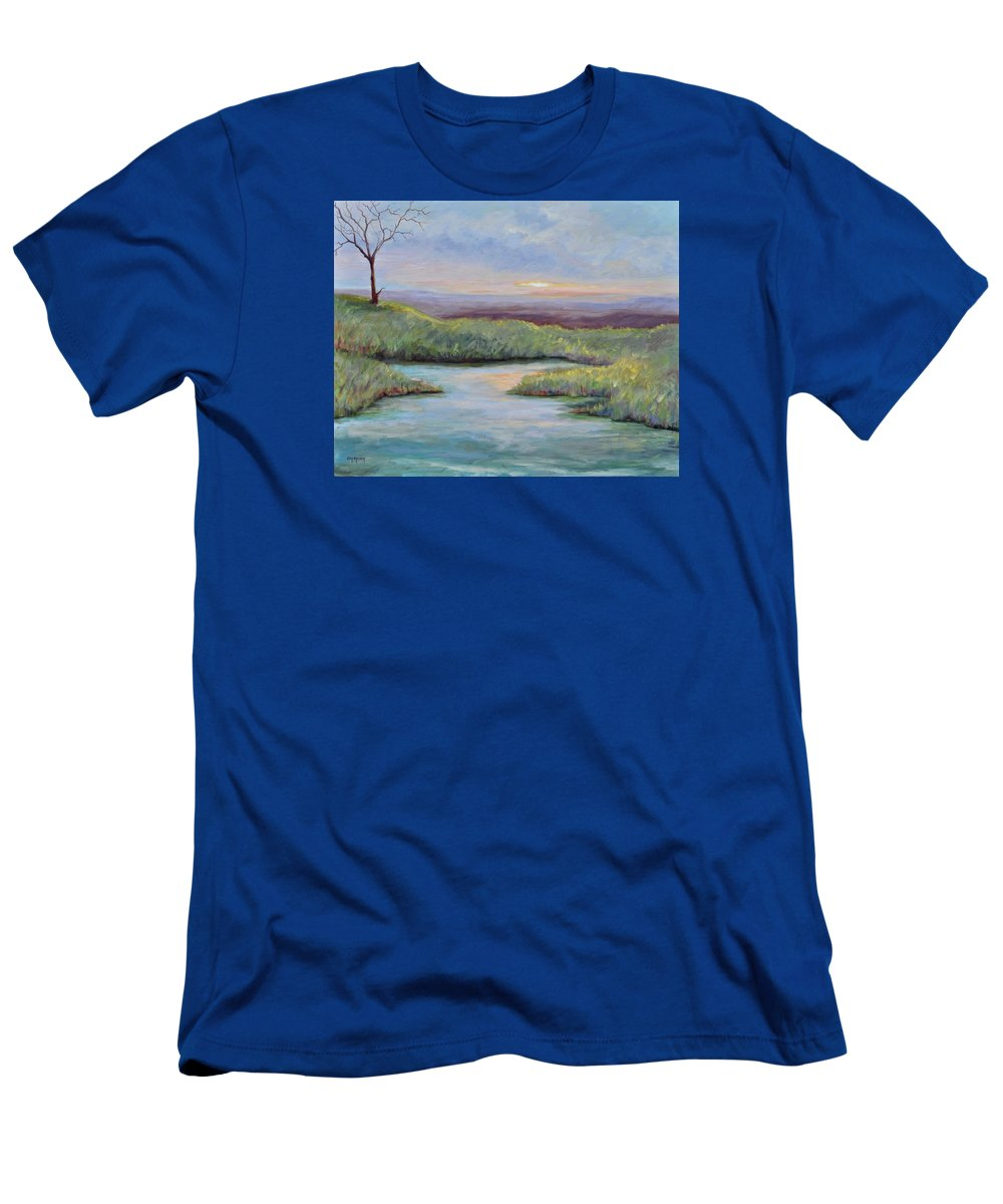 Lone Trees T-Shirt featuring the painting Soledad by Ginger Concepcion