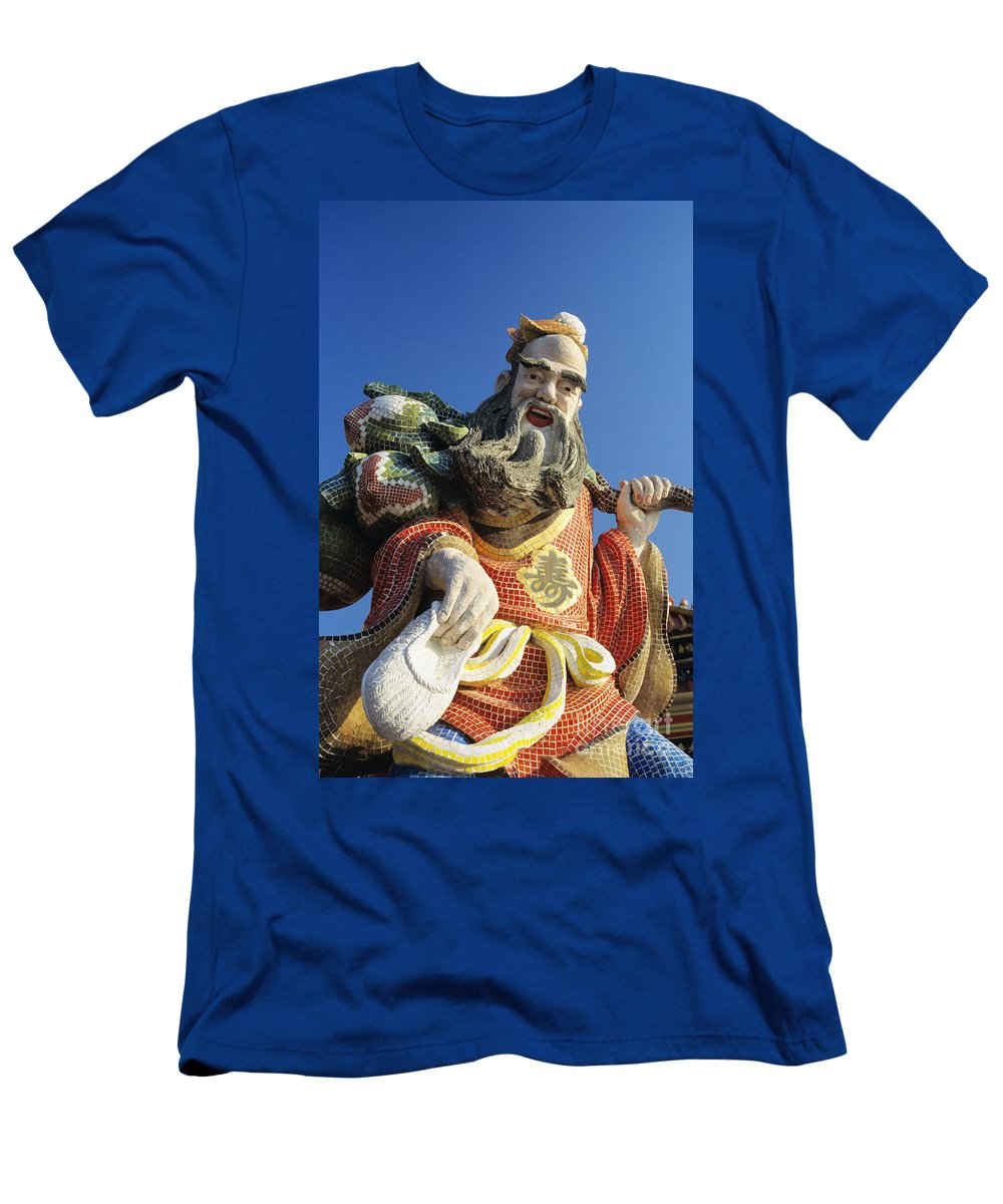 Afternoon Men's T-Shirt (Athletic Fit) featuring the photograph Tin Hua Temple by Gloria & Richard Maschmeyer - Printscapes