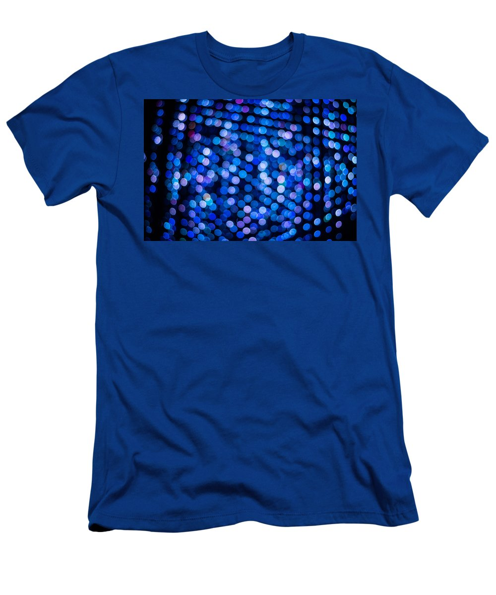 Abstract Men's T-Shirt (Athletic Fit) featuring the photograph Abstract Lights by Jijo George