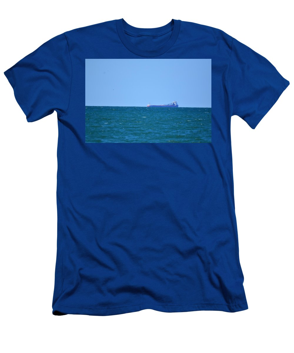 Ship Men's T-Shirt (Athletic Fit) featuring the photograph 3912 by Sergei Dratchev