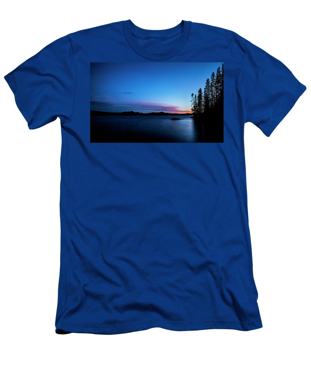 Men's T-Shirt (Athletic Fit) featuring the photograph Waldo Lake by Angus Hooper Iii