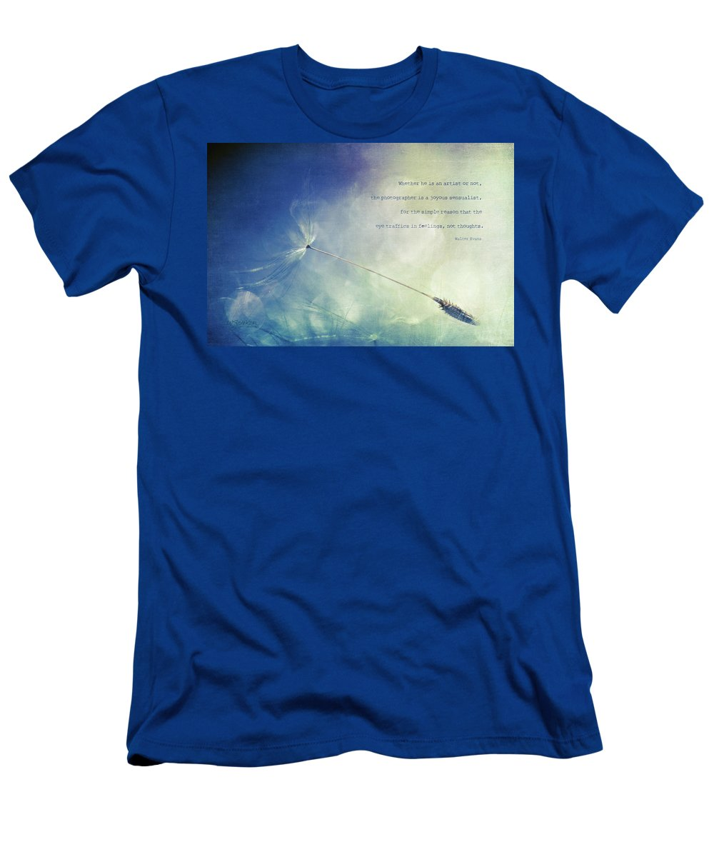 Dandelion T-Shirt featuring the photograph A Photographer's Eye by Joy Gerow