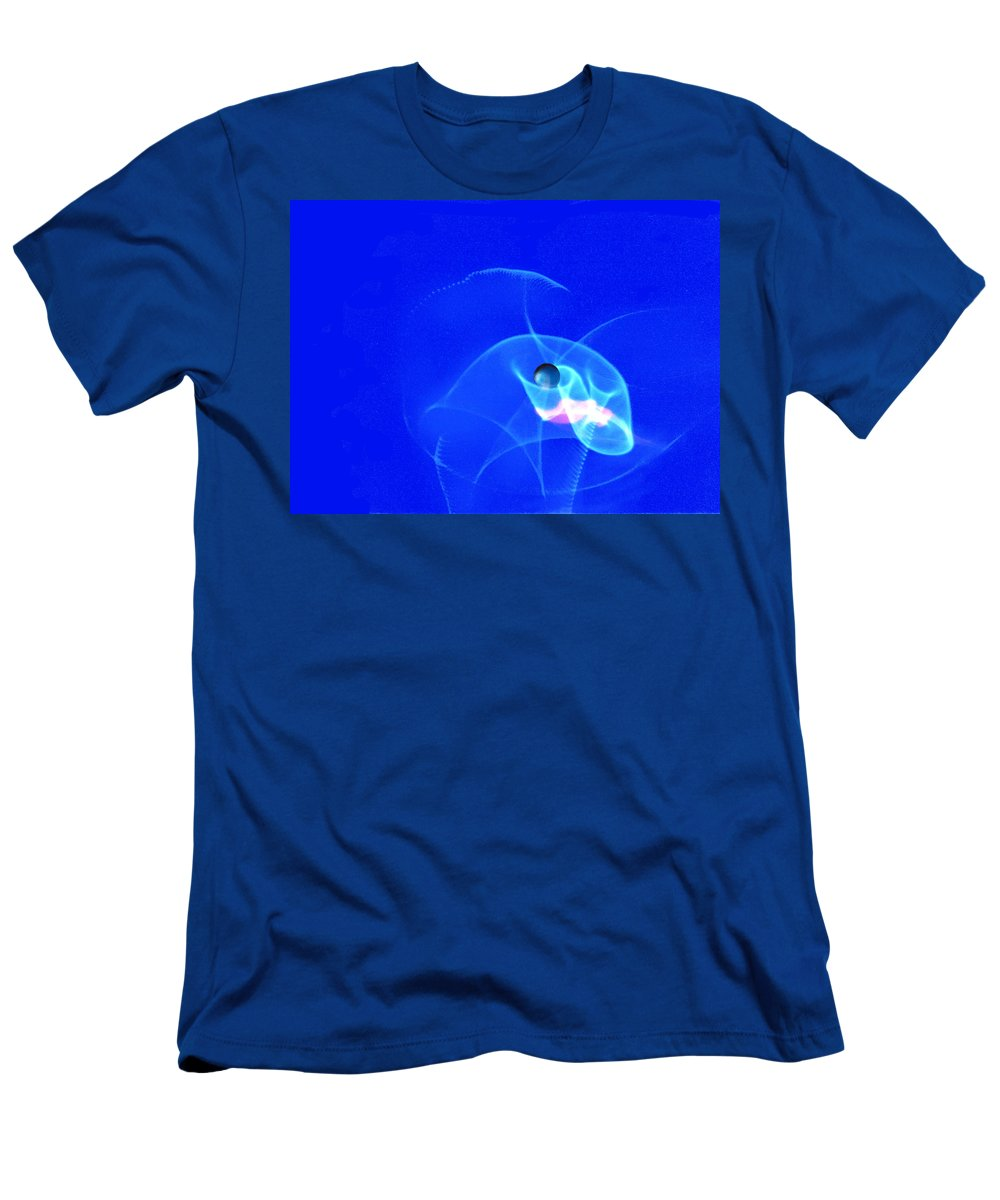 Abstract Men's T-Shirt (Athletic Fit) featuring the photograph Apparition Pearl by Steve Karol