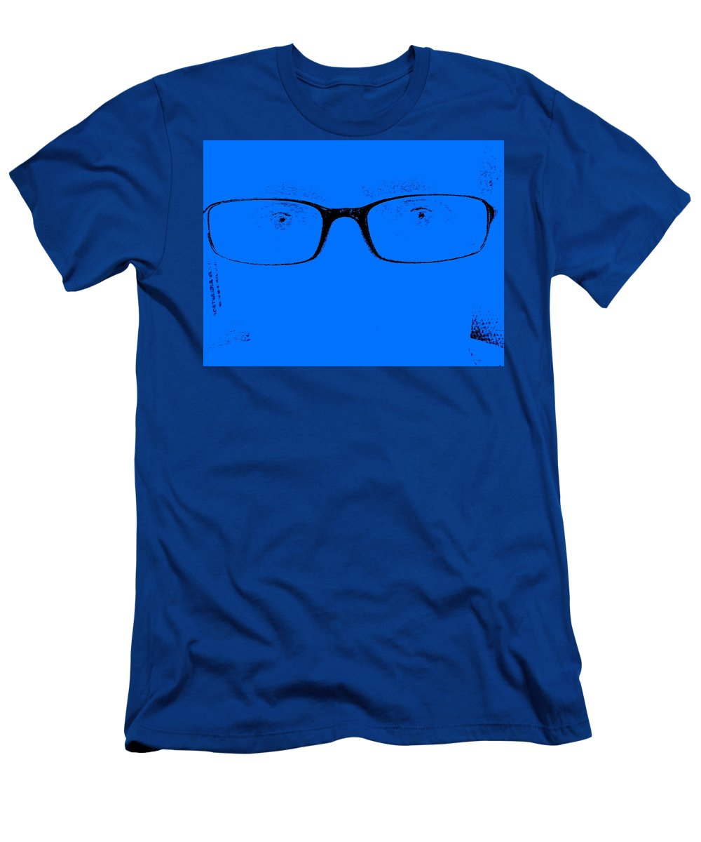 Fae Men's T-Shirt (Athletic Fit) featuring the photograph Are You Still There by Ed Smith