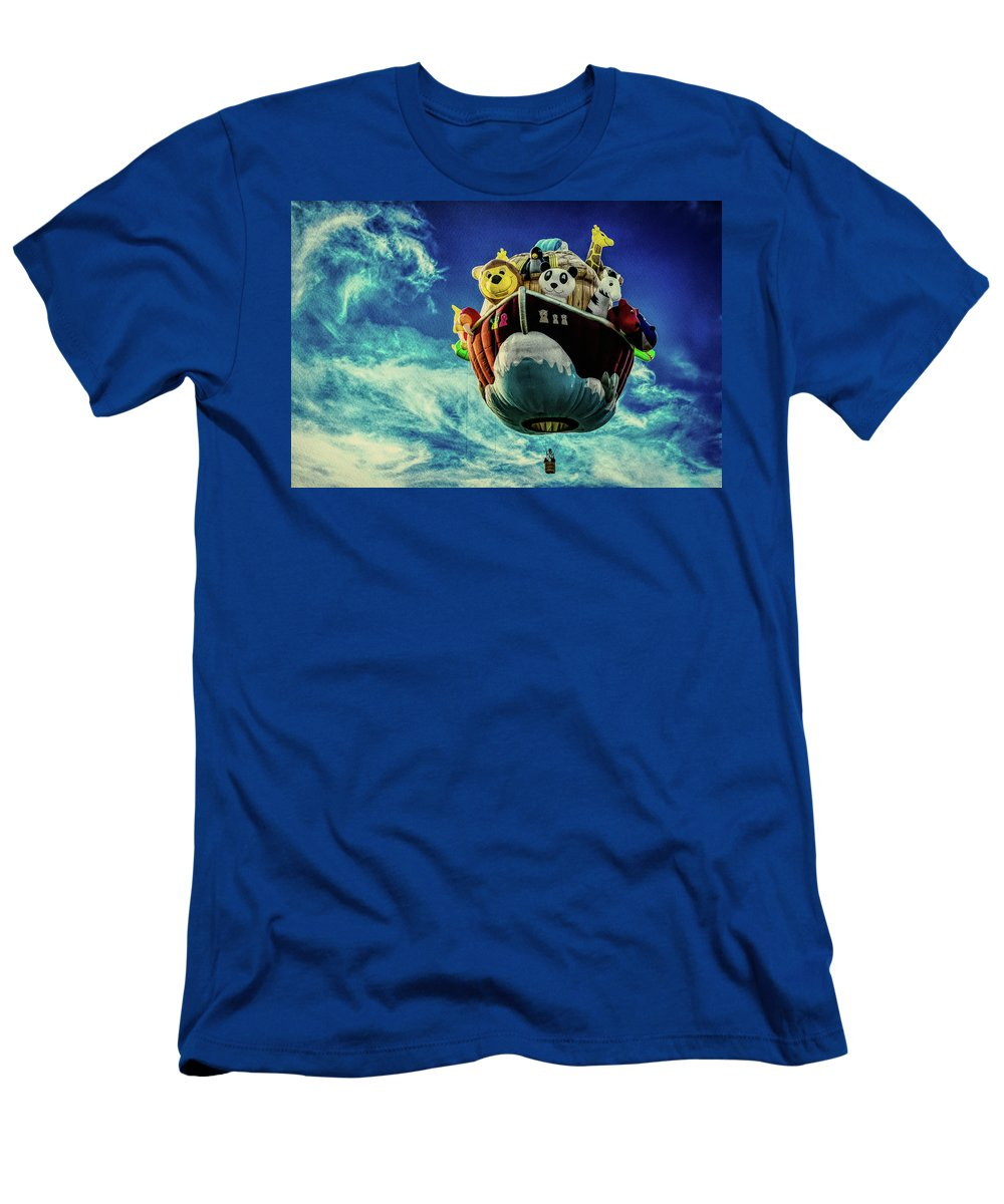Arky Men's T-Shirt (Athletic Fit) featuring the photograph Arky Noah's Ark by Bob Orsillo