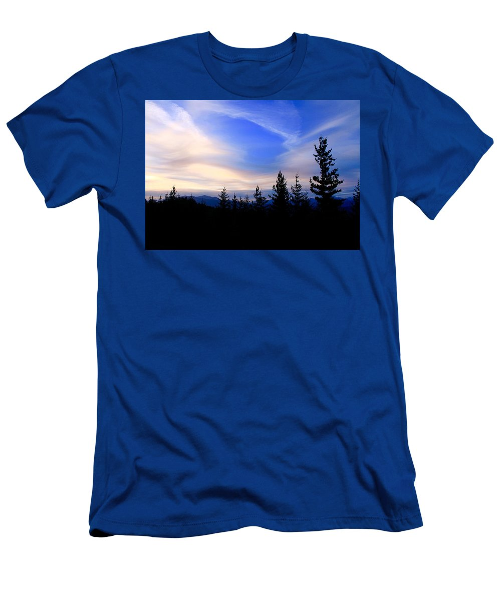 Susan Men's T-Shirt (Athletic Fit) featuring the photograph Awesome Sky by Susan Crossman Buscho
