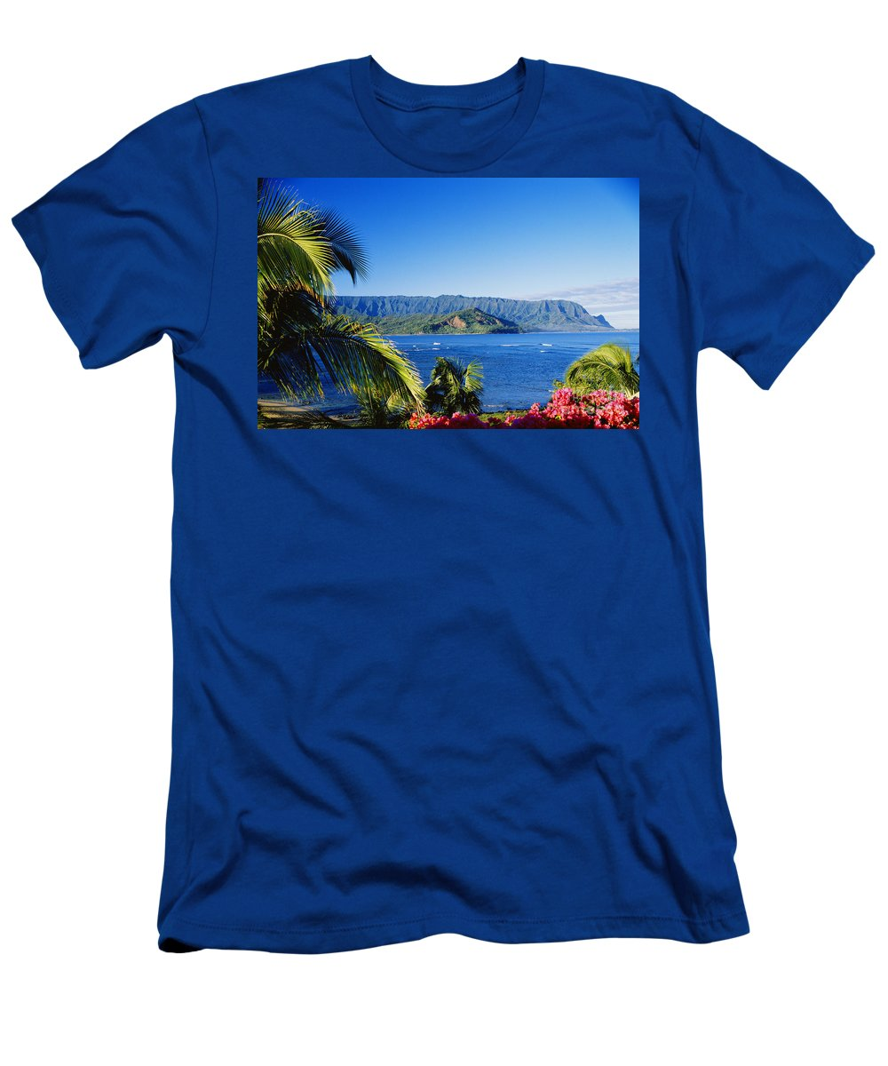 Bali Hai Men's T-Shirt (Athletic Fit) featuring the photograph Bali Hai by David Cornwell First Light Pictures Inc - Printscapes