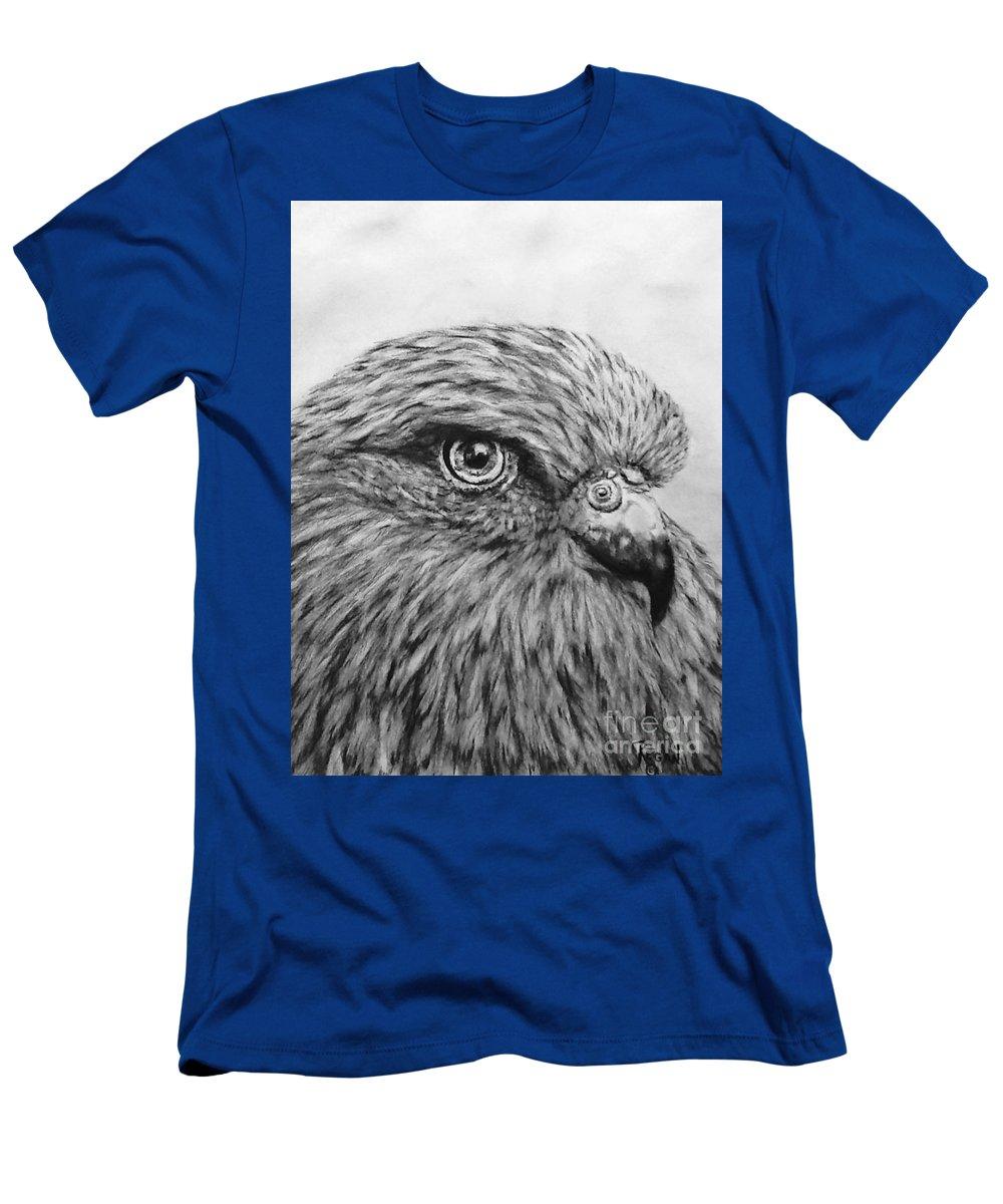 Birds T-Shirt featuring the drawing Bird by Regan J Smith
