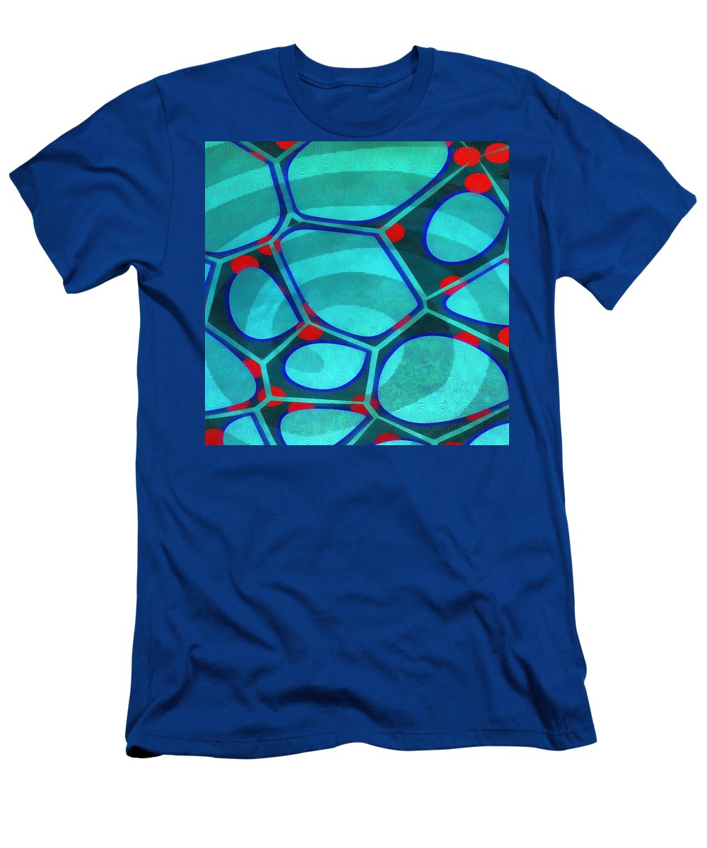 Painting T-Shirt featuring the painting Cell Abstract 6a by Edward Fielding