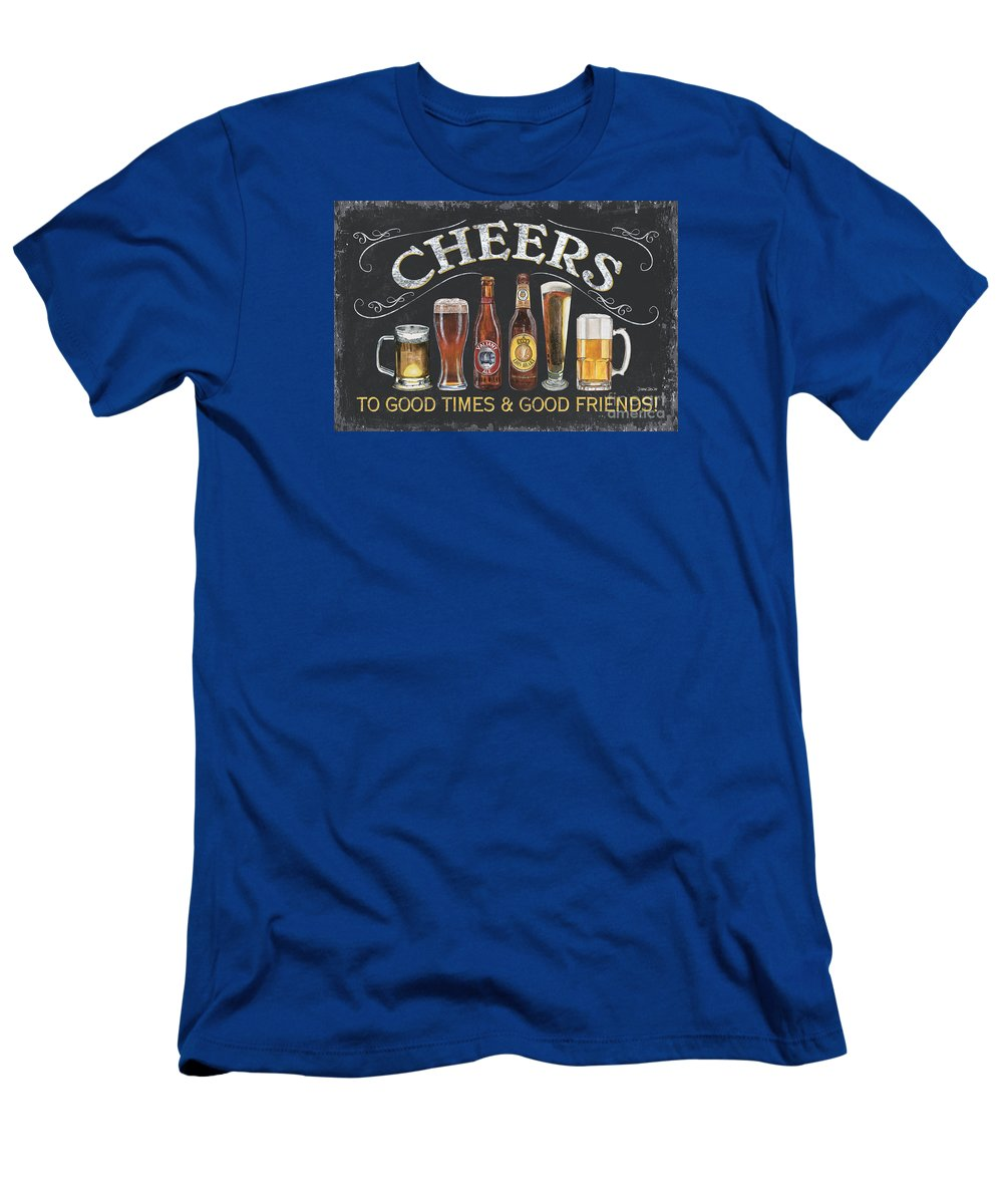 Cheers T-Shirt featuring the painting Cheers by Debbie DeWitt