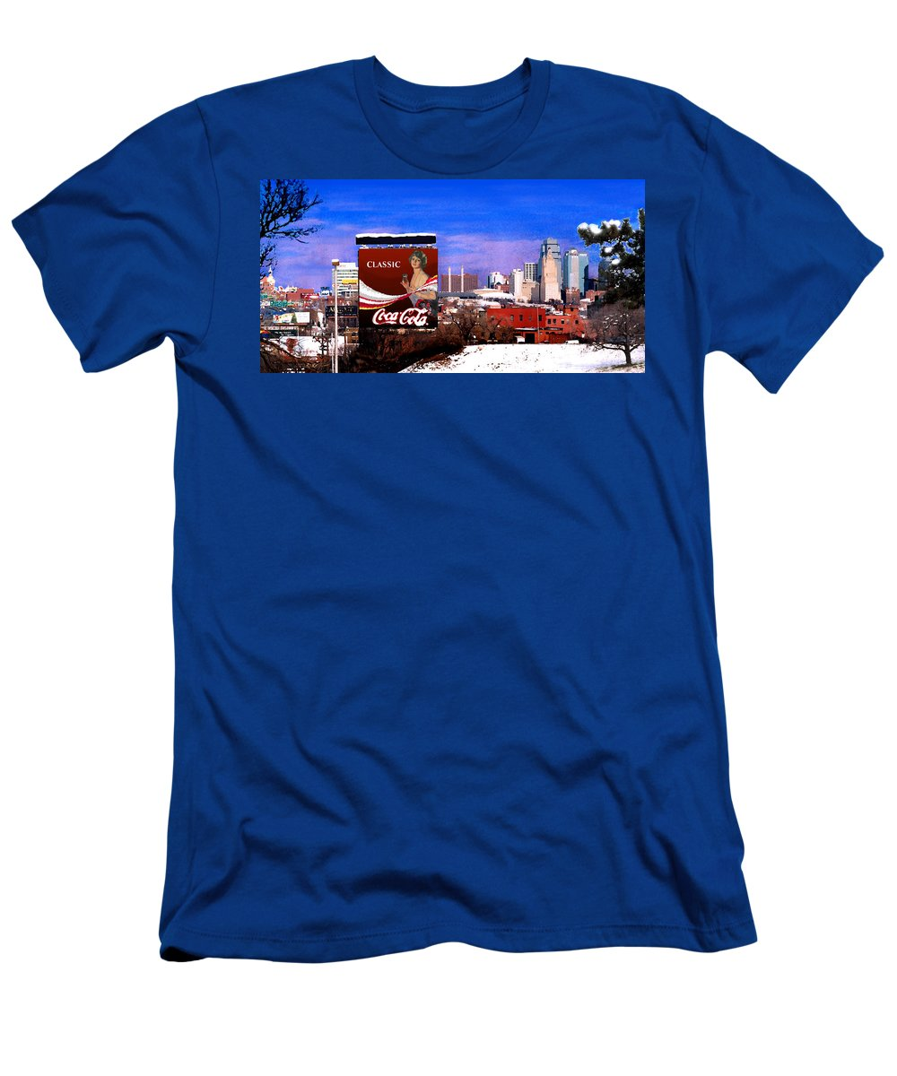 Landscape Men's T-Shirt (Athletic Fit) featuring the photograph Classic by Steve Karol