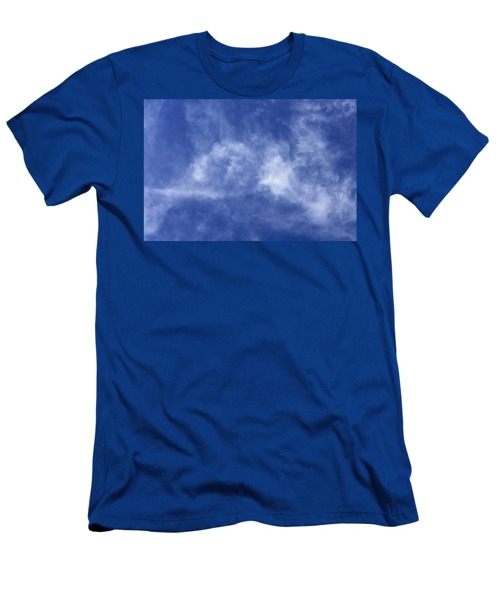 Cloud.sky Men's T-Shirt (Athletic Fit) featuring the photograph Clouds 6 by Teresa Mucha