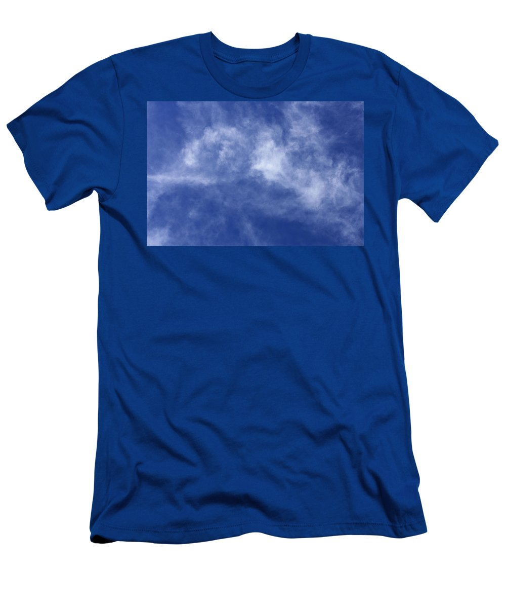 Cloud.sky Men's T-Shirt (Athletic Fit) featuring the photograph Clouds 8 by Teresa Mucha
