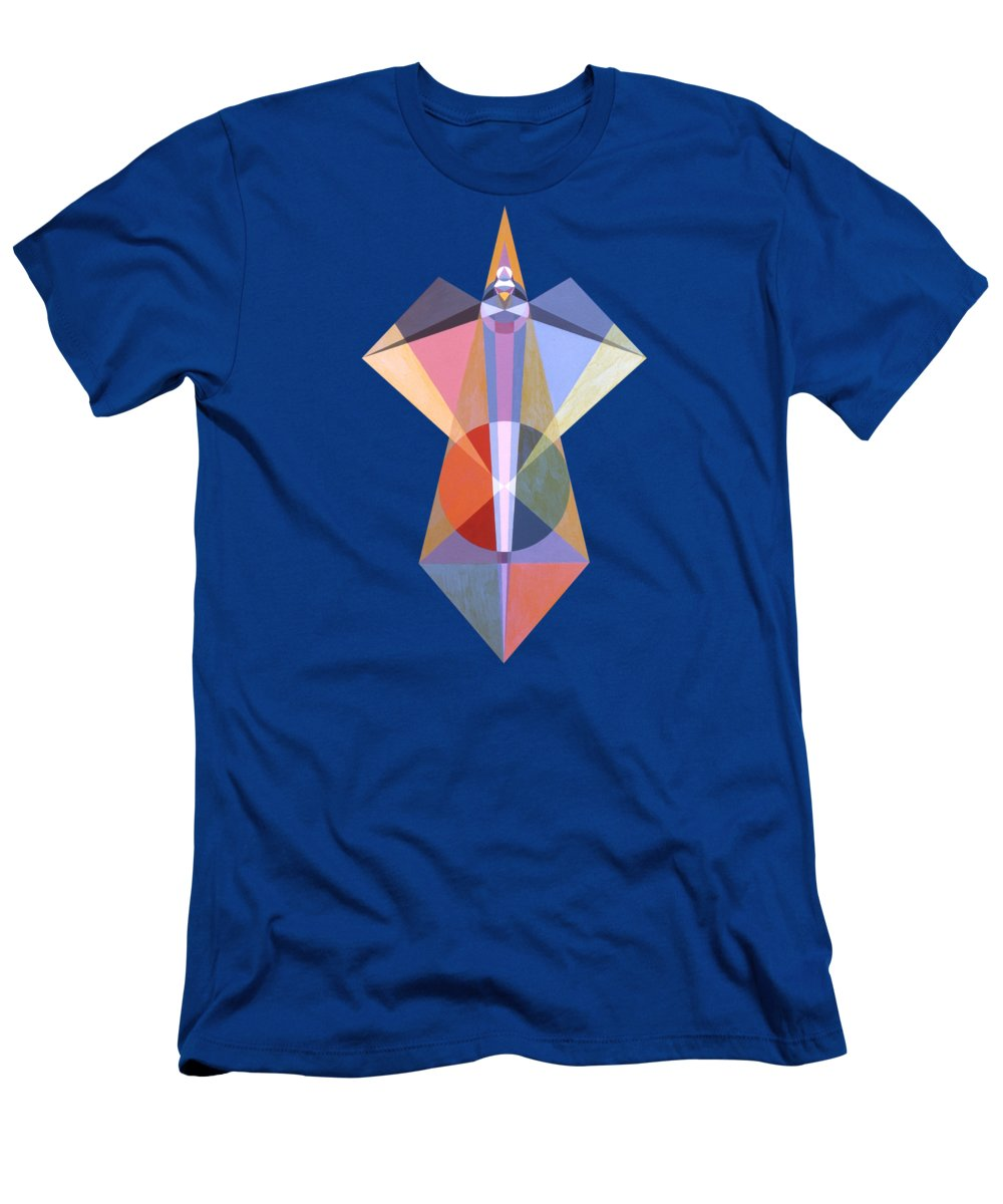 Painting T-Shirt featuring the painting Composure by Michael Bellon