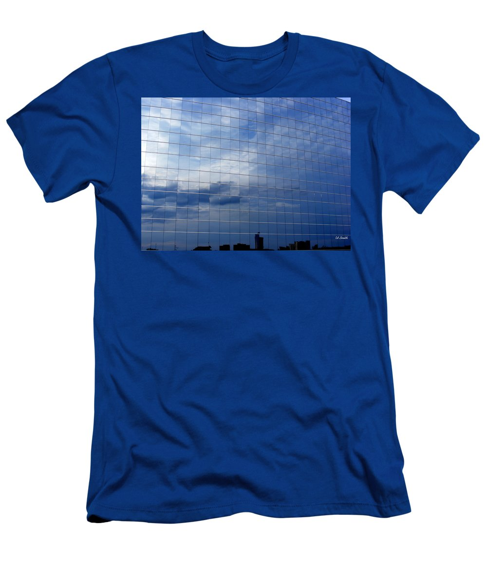 Cubed Men's T-Shirt (Athletic Fit) featuring the photograph Cubed by Edward Smith