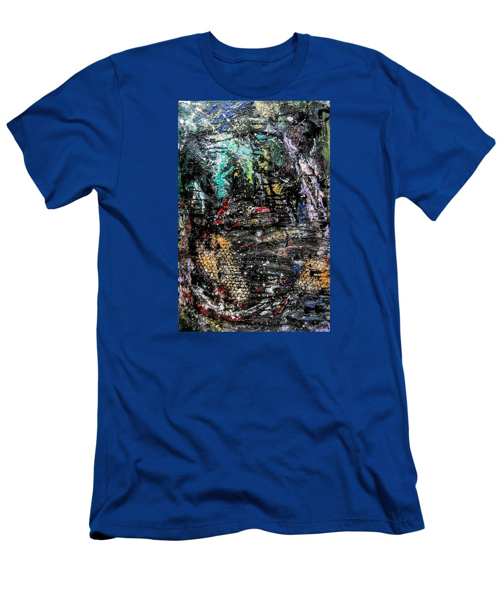 Movement T-Shirt featuring the painting Depression #1 by Valerie Josi