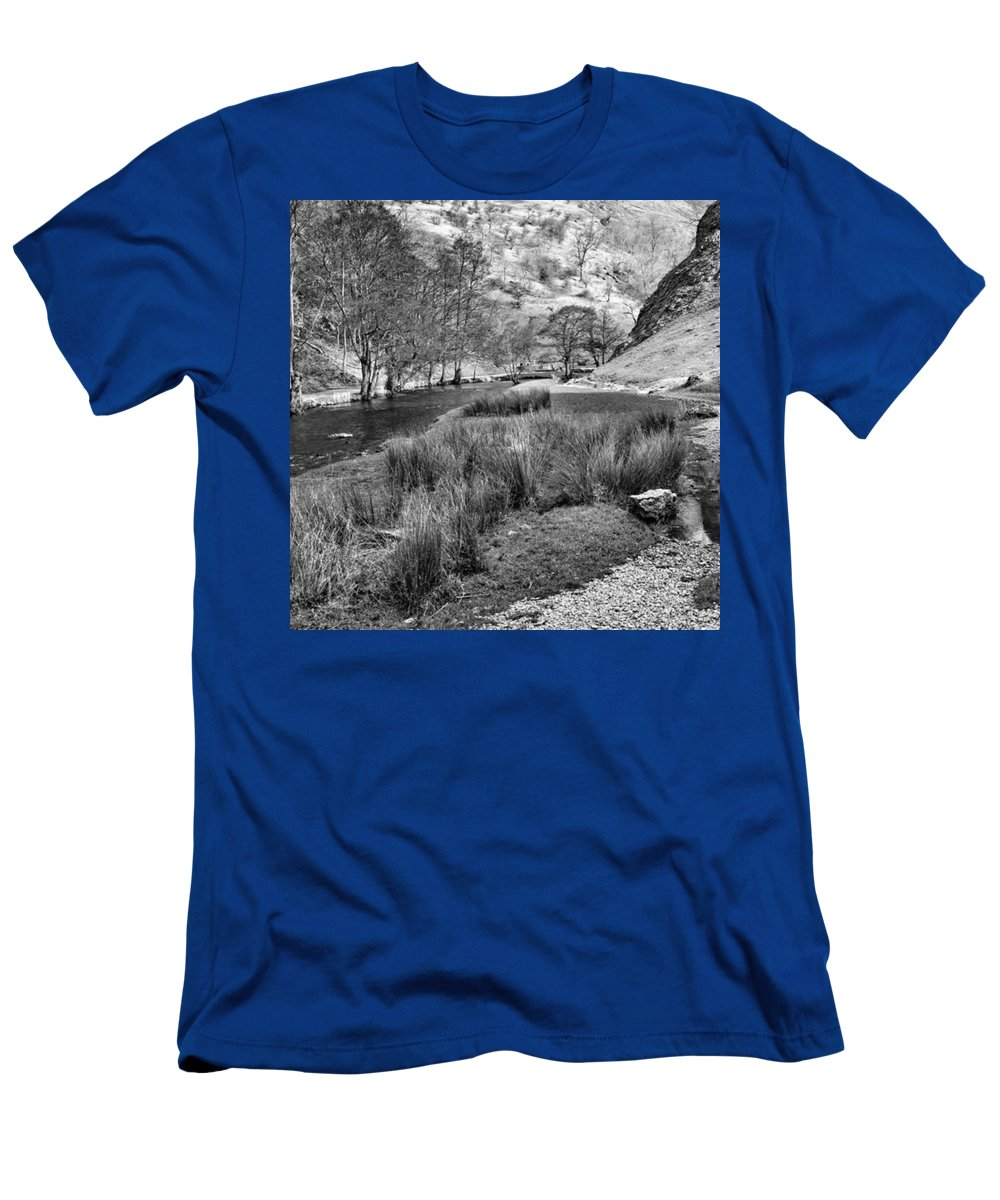 Dale T-Shirt featuring the photograph Dovedale, Peak District UK by John Edwards