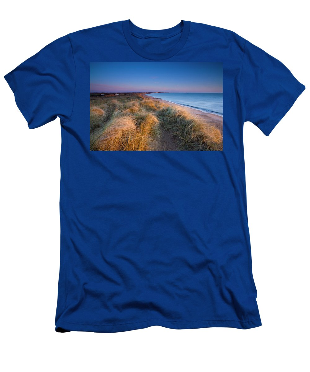 2009 Men's T-Shirt (Athletic Fit) featuring the photograph England, Northumberland, Blyth by Jason Friend