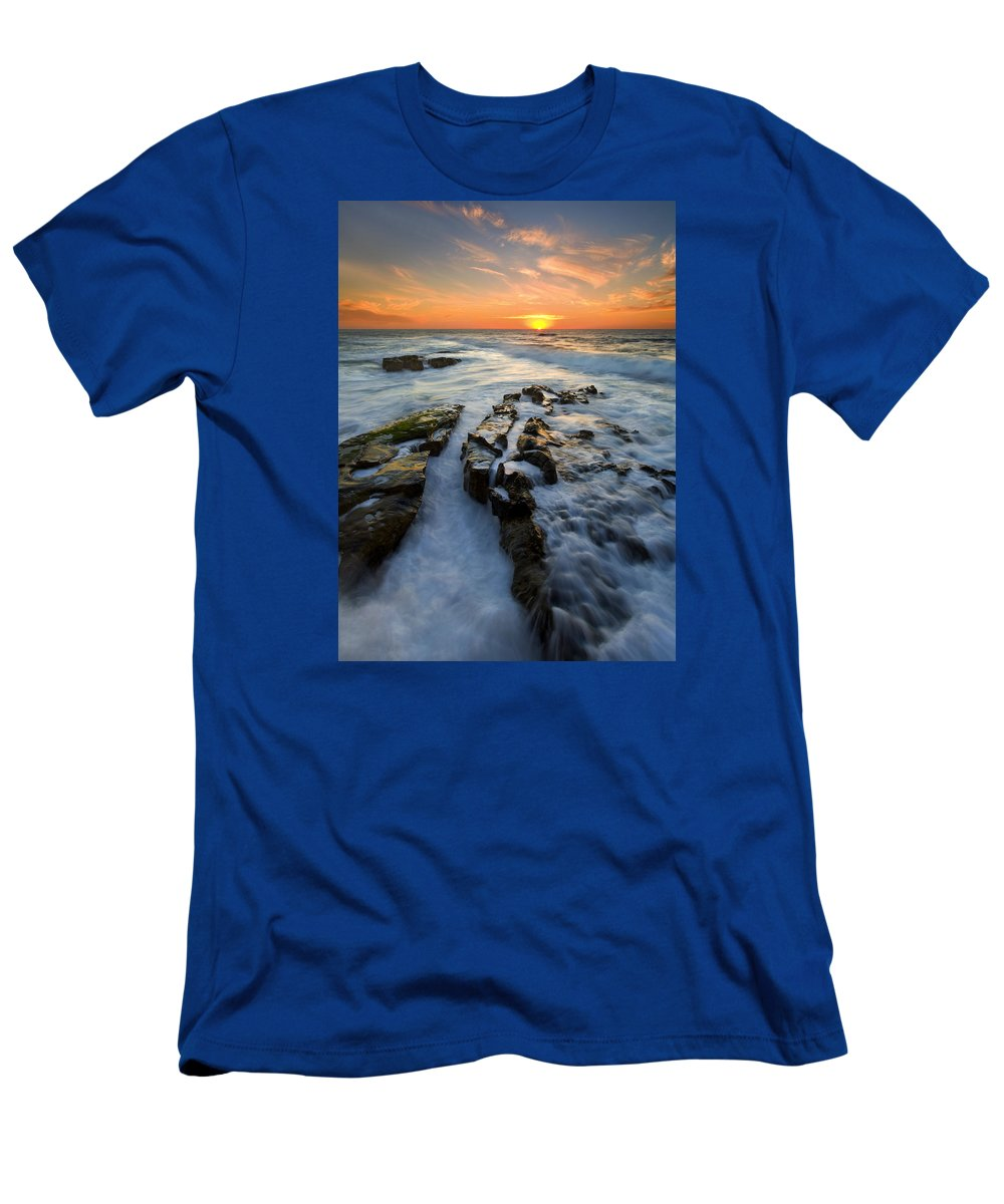 Sunset T-Shirt featuring the photograph Engulfed by Mike Dawson