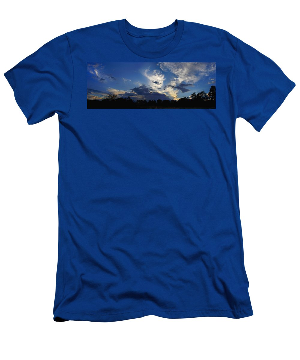 Landscape T-Shirt featuring the photograph Evening At The Nature Center by Steve Karol