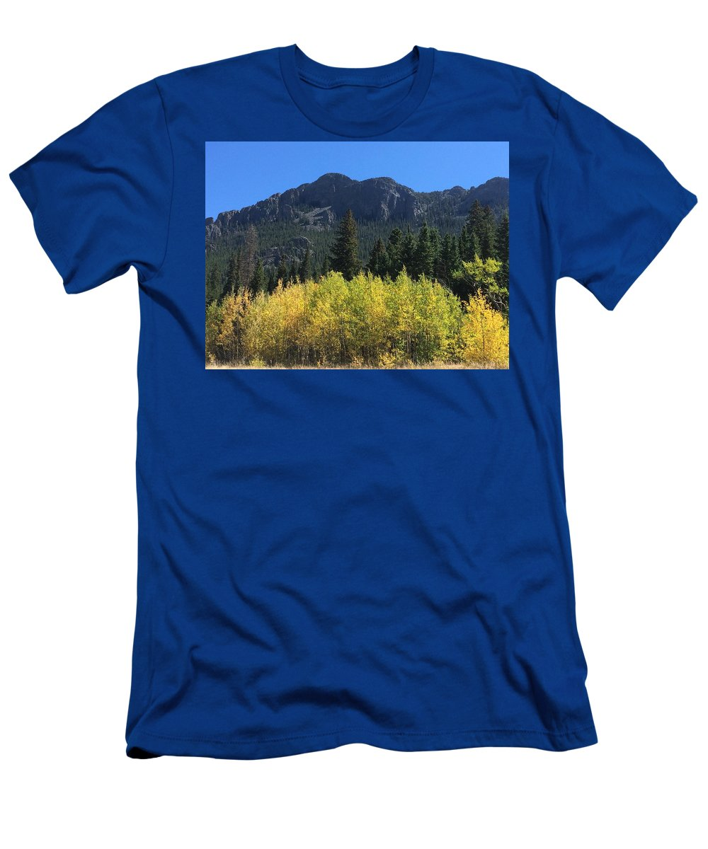 Landscape T-Shirt featuring the photograph Fall at Twin Sisters by Kristen Anna