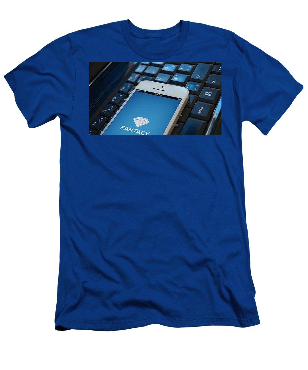Men's T-Shirt (Athletic Fit) featuring the photograph Fantacy Optimized Ecommerce Platform by Appkodes S