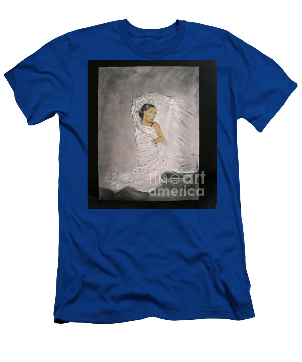 Spain T-Shirt featuring the painting Flamenco by Lizzy Forrester