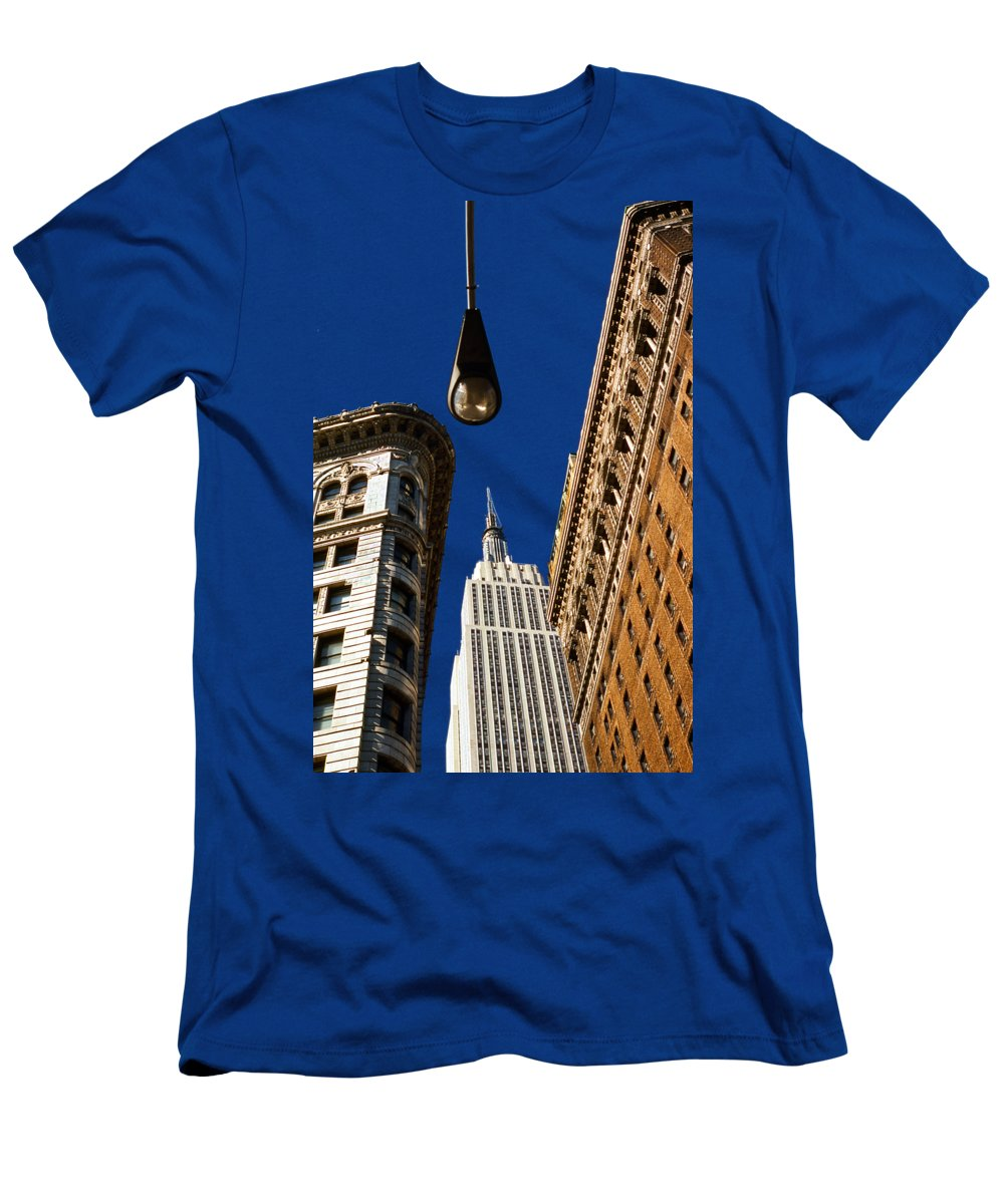 New York City Skyline Slim Fit T-Shirts