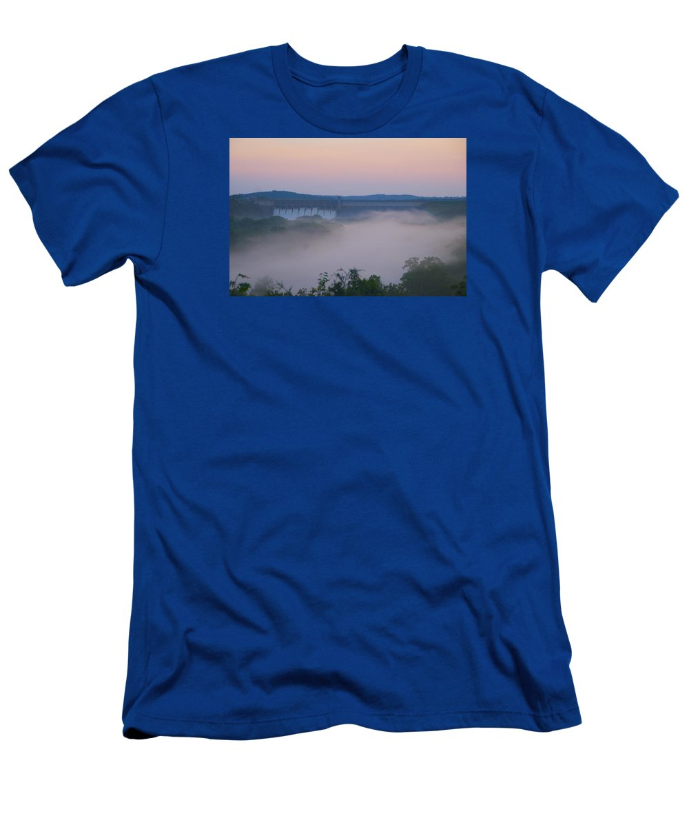 Fog T-Shirt featuring the photograph Fog at Dusk by Toni Berry
