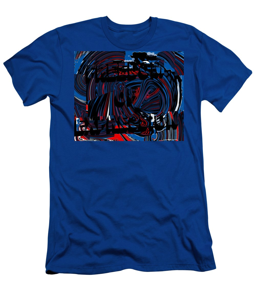 Freedom Of Expression Men's T-Shirt (Athletic Fit) featuring the digital art Freedom Of Expression by Pharris Art