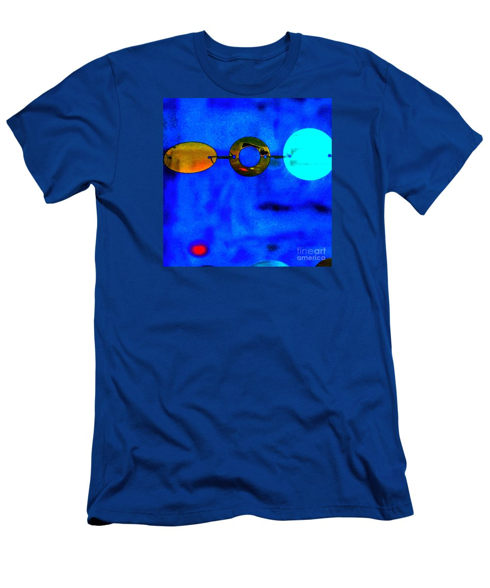 Abstract Men's T-Shirt (Athletic Fit) featuring the photograph Genisis 3 by Deb Cohen