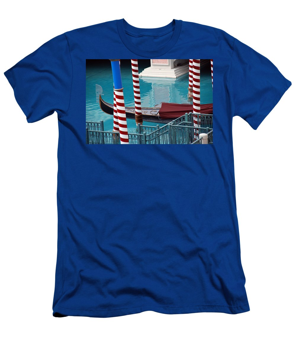 Las Vegas T-Shirt featuring the photograph Greetings from Venice by Susanne Van Hulst