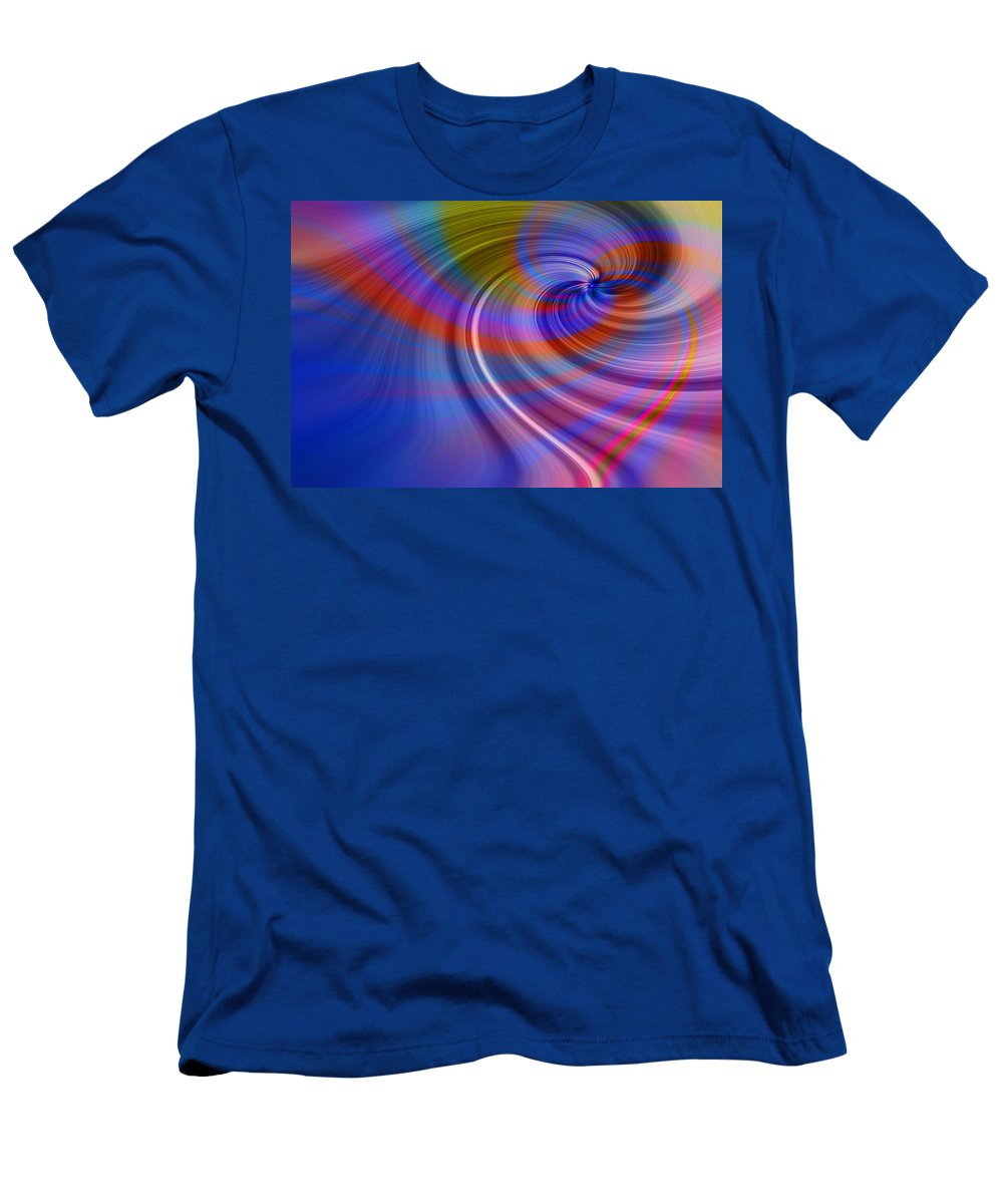 Abstract Men's T-Shirt (Athletic Fit) featuring the photograph Have A Heart by Laura Macky