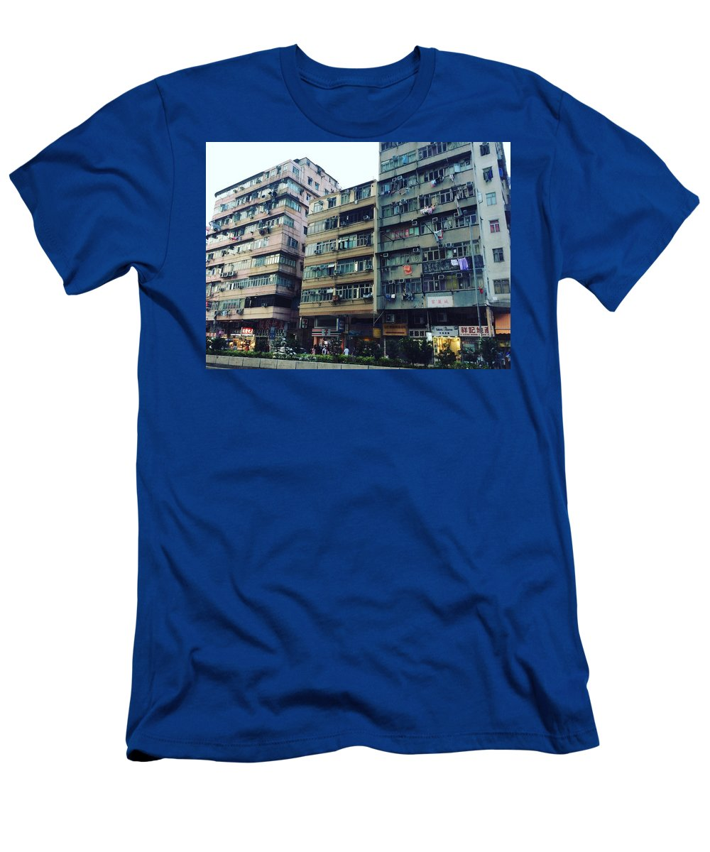 Hongkong T-Shirt featuring the photograph Houses of Kowloon by Florian Wentsch
