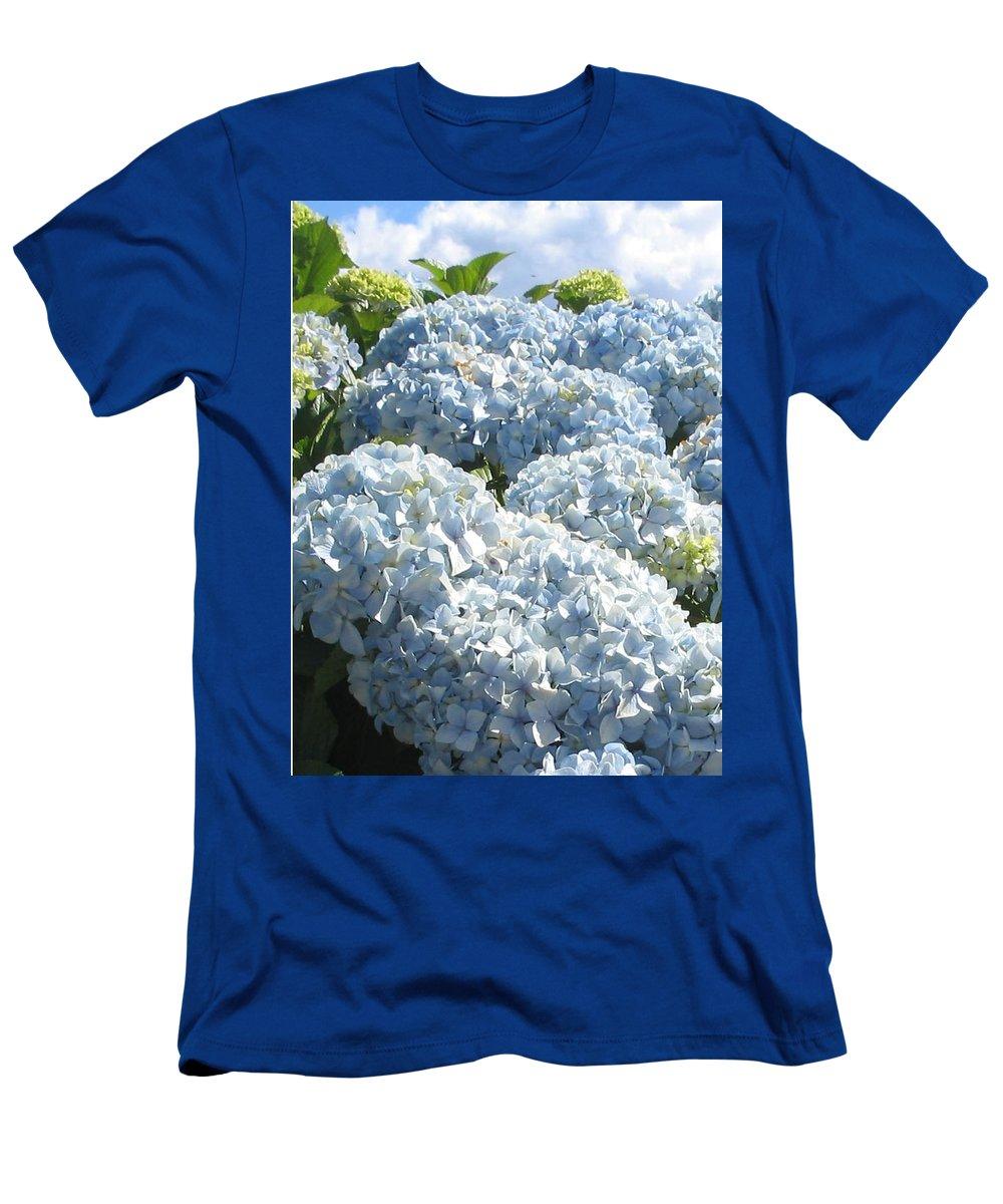 Blue Hydrangea T-Shirt featuring the photograph Hydrangeas by Valerie Josi